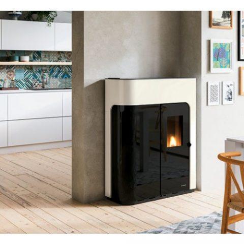 pellet-boiler-stove-palazzetti-elisabeth-idro-12kw-corridor-white