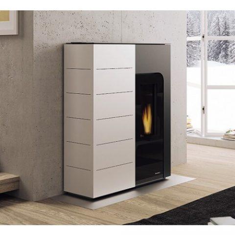 pellet-boiler-stove-palazzetti-ginger-idro-12kw-white