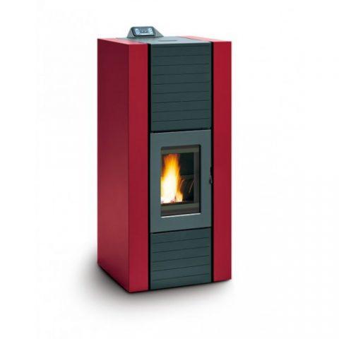 pellet-boiler-stove-palazzetti-martina-idro-lux-15kw-red