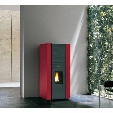 pellet-boiler-stove-palazzetti-martina-idro-new-14kw-red